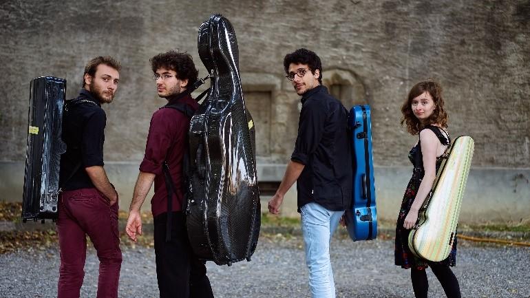 les fieffes musiciens - quatuor ernest